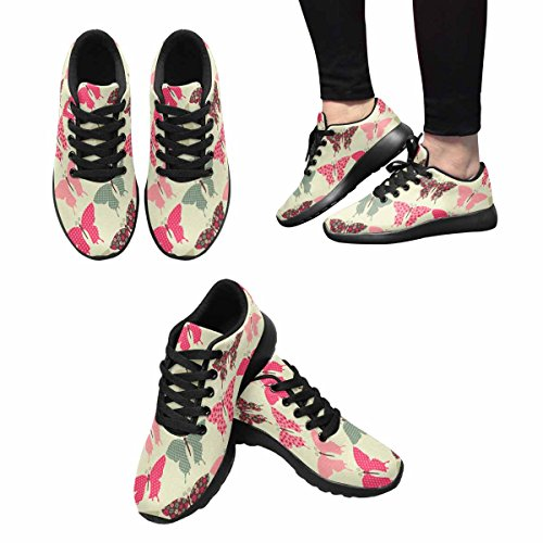 Scarpa Da Jogging Leggera Da Donna Running Jogging Leggera Easy Go Walking Sport Comfort Scarpe Da Corsa Multi 7