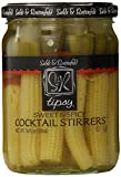 Sable & Rosenfeld Tipsy Cocktail Stirrers, Sweet and Spicy, 16 Ounce