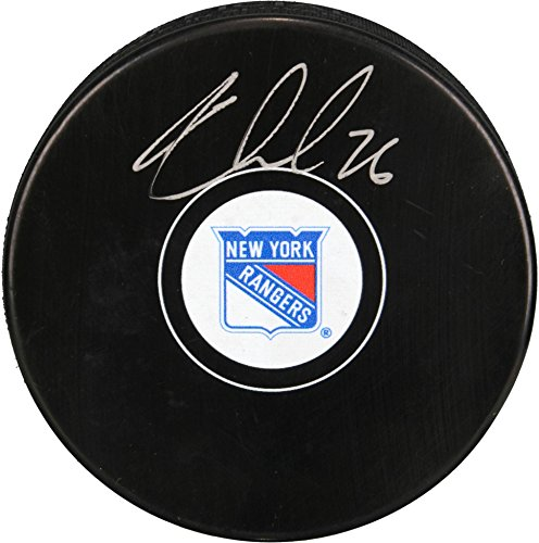Jarret Stoll New York Rangers Autographed Hockey Puck - Fanatics Authentic Certified - Autographed NHL Pucks