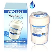 GE MWF SmartWater Compatible Water Filter Cartridge - Refrigerator Water Filter - Also fits GE MWF, GWF, GWFA, GWF01, GWF06, MWFA, MWFP