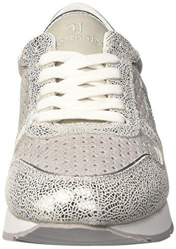79s50853 Basses 112 Jeans Femme Argenté silver Trussardi HA5xfqf