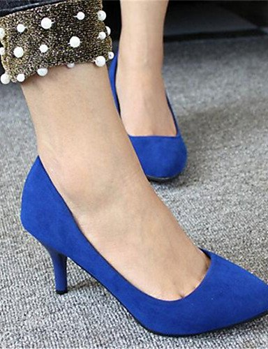 sint¨¦tico vestido Zapatos Rojo tacones 5 Cn40 Fiesta Red Eu39 tac¨®n Y Uk6 Azul 5 Mujer us8 us8 Zq Kitten tacones Uk6 negro De Noche Red Cn39 Pdq00