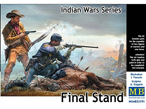 'MB35191 Figure Final Stand Indian Wars Series Master Box Master Box Ltd.