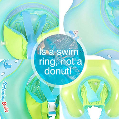 IEKOFO Inflatable Baby Swimming Float Ring Children Waist Float Ring Underarm Inflatable Floats Pool Toys Swimming Pool Accessories for The Age of 3-36 Months by IEKOFO (Image #6)