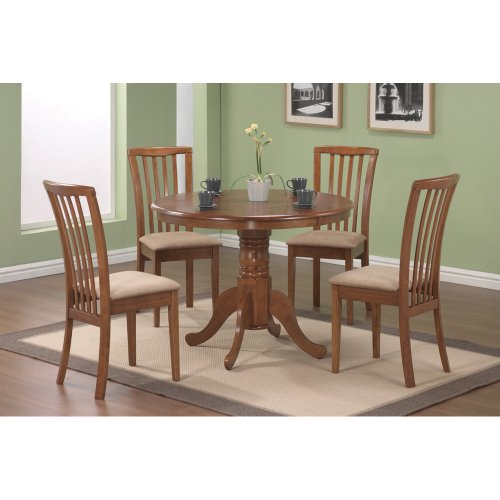 Coaster Dining Table, Light Brown