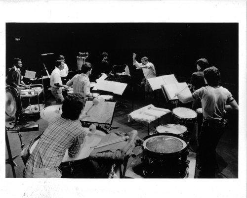 New Jersey Percussion Ensemble Original 8x10 Photo K7864