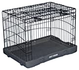 Cheap Pet Gear Travel Lite Steel Crate for cats and dogs up to 70-pounds, 36-inch, Pet Crate, Black