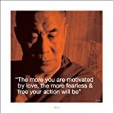 Dalai Lama iQuote Poster 15.75x15.75 inch