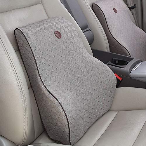 DHUYUN Car Lumbar Pillow Latex Orthopedic Chair Pillow Back Support Seat Cushion Comfort Natural Cushion Office Car…