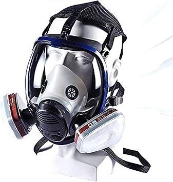 CXDM Doble Filtro de 360 ° de protección fácil de Usar en The Organic Gas El pulverizador de Pintura para la Protección de los Ojos Protección respiratoria