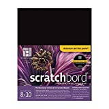 Ampersand Scratchbord 8 in. x 10 in. each (1 Pack) by Ampersand