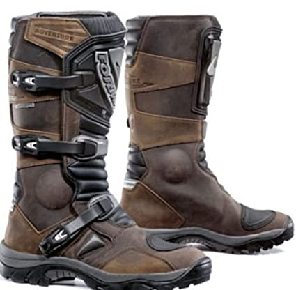 New Forma Mud Adventure Trail Green Laning Boots Enduro Brown UK 9 Euro 43