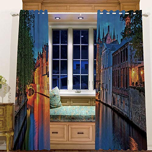 (Finel Kids Curtains for Living Room Bedroom Window Curtains Baby Room,84