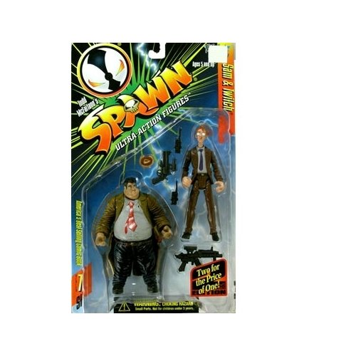 Spawn Series 7 > Sam and Twitch (2nd Edition) Action Figure Series 2 Spawn Mcfarlane Toy