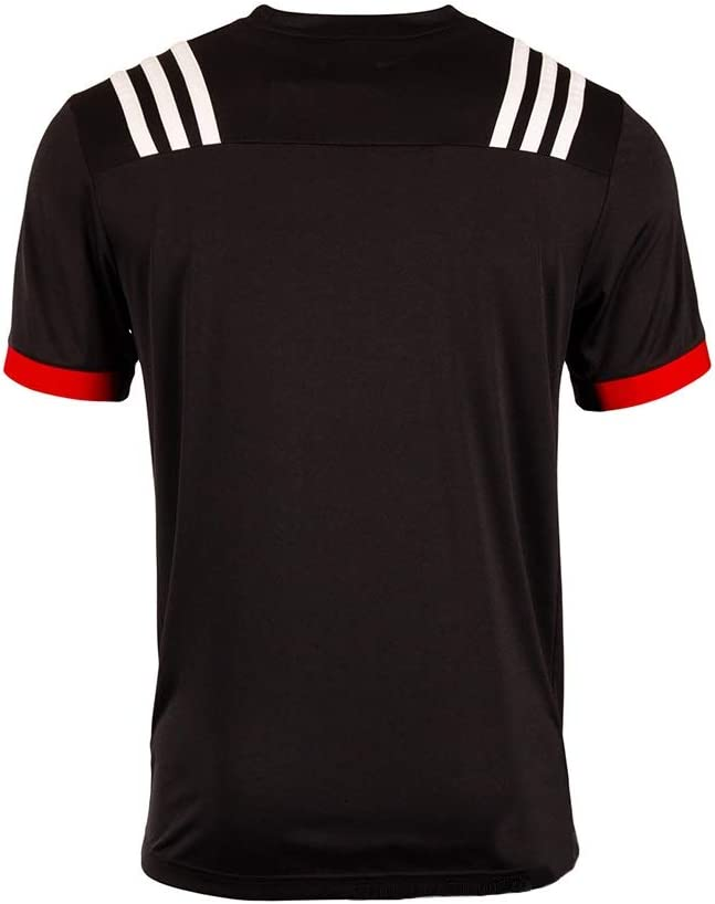 Size : S Haoyue Fan jersey Rugby Jersey New Zealand Maori Supporter Training Shirt Short Sleeve Mens Casual Sports T Shirt Fan Jersey supporter