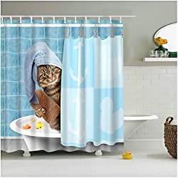 Cat Shower Curtain 3D Printing