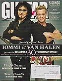 Guitar World Magazine Anniversay 2010 Tony Iommi, Eddie Van Halen, Muse, Kings Of Leon, Nirvana