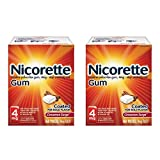 Nicorette Nicotine Gum To Stop Smoking 4mg, Cinnamon Surge, 320 Count