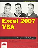 img - for Excel 2007 VBA Programmer's Reference book / textbook / text book