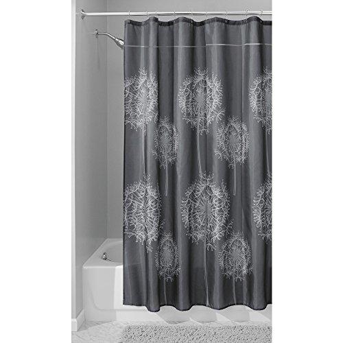 InterDesign Dandelion Shower Curtain