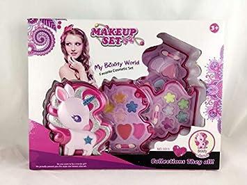 Dimasa Estuche de Maquillaje Unicornio de 3 Compartimentos