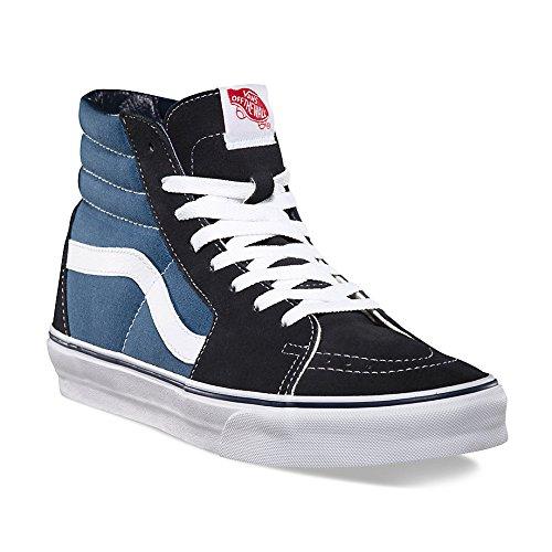 New Vans Shoes - Vans Sk8-Hi Unisex-Adults Hi-Top Sneaker, Blue (Navy), 9.5 UK (43 EU)