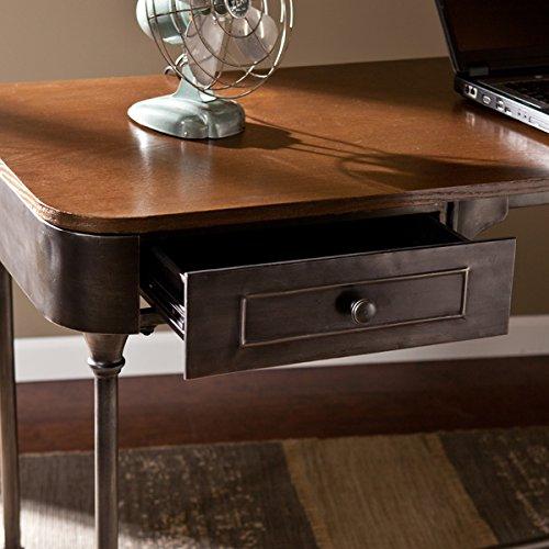 Stylish Industrial 2-Drawer Desk