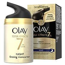 Olay Total Effects Night Firming Moisturiser 50 ml (Packaging Varies)