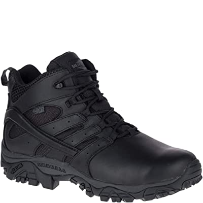 Merrell Work Men's Moab 2 Mid Tactical Response Waterproof: Shoes