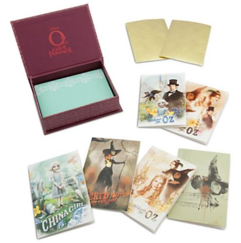Disney Oz the Great and Powerful Notecard Set -