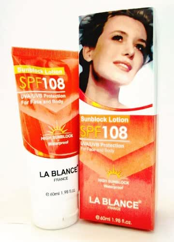 Lablance - Sunblock Lotion Spf108 - Uva/uvb Prot. 60ml