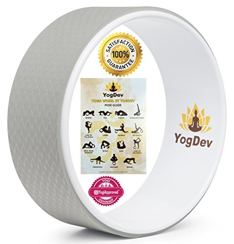 Yoga-Wheel-by-YogDev-Premium-12-Roller-Designed-for-Dharma-Yoga-Wheel-Pose-For-Stretching-and-Increased-Flexibility-Targets-Spine-Shoulders-Hips-Abdomen-and-Chest