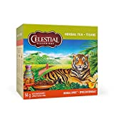Celestial Seasonings Bengal Spice Herbal Tea, 40 Tea Bags per box, 1 box