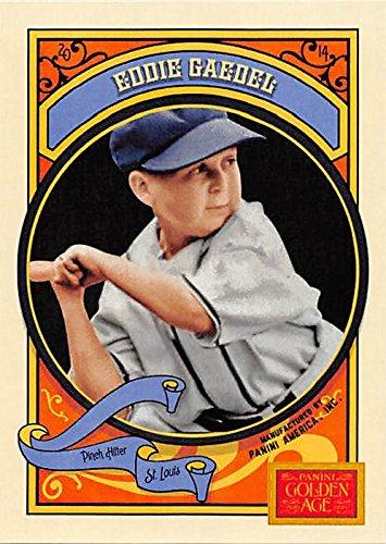 Eddie Gaedel Baseball Card (St. Louis Browns, 1st Dwarf in Baseball) 2014 Panini Golden Age #52 - Louis Browns Baseball Card
