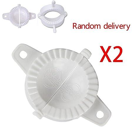 LUFA 2X Presione la masa plástica de la empanada de la masa que hace el molde