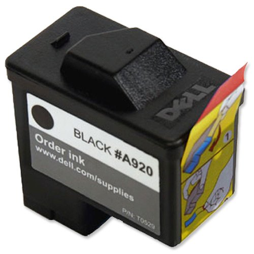 (Dell Computer T0529 1 Standard Capacity Black Ink Cartridge for A920/720 )