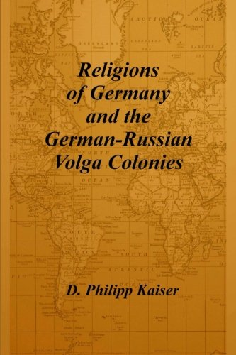 Best buy Religions of Germany and the German-Russian Volga Colonies