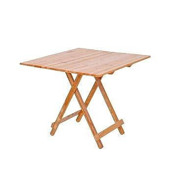Solid Wood Folding Table.Amazon Com Rly Folding Table Solid Wood Folding Handle