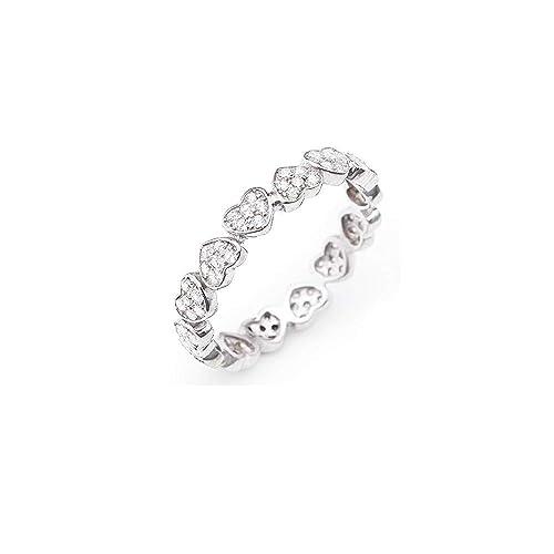 negozio di sconto vari colori elegante e grazioso anello donna gioielli Amen Amore misura 14 trendy cod. RHHZ ...
