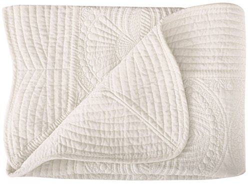 Toddler Blankets All Weather Lightweight Warm Baby Quilt Cream by Lullaby
