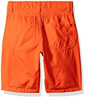Crazy 8 Boys' Solid Flat Front Short