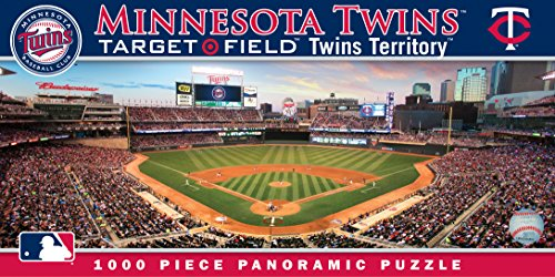 - MasterPieces MLB Minnesota Twins Stadium Panoramic Jigsaw Puzzle, 1000-Piece