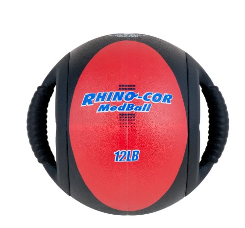 Champion Sports Rhino Cor Medicine Balls, 12-Pound