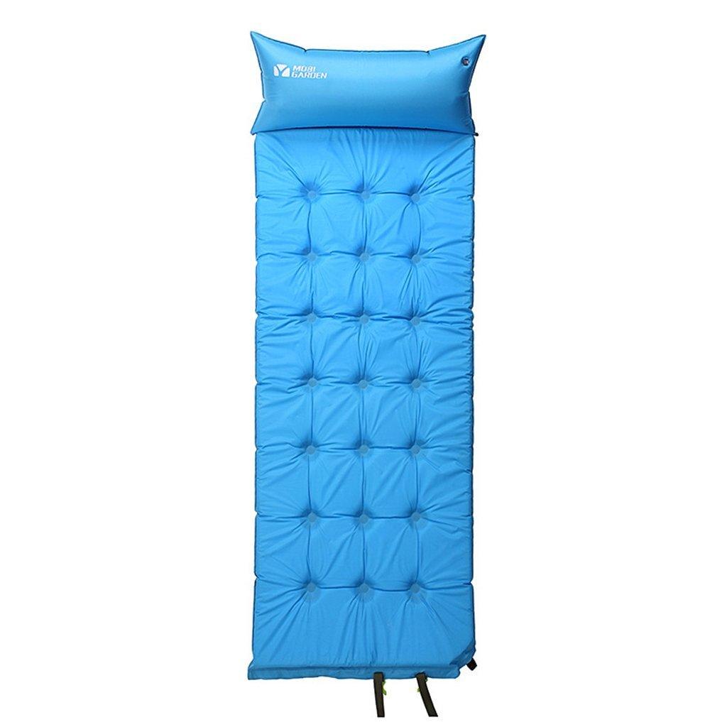 Mobi Outdoor-Ausrüstung und großzügige Einzel-Picknickmatte Zelt Feuchtigkeit Pad automatisch aufblasbare MJ