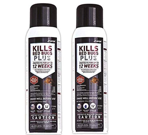 JT Eaton 217 Kills Bed Bugs Plus Aerosol Water Based Insect Spray (2 BOTTLE)