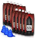 Wine Caddy 750ml Foldable Wine bottle & Funnel