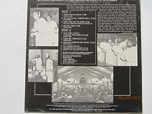 Mattie Moss Clark presents Esther Smith & The Voices Of Deliverance/Recorded Live!-At International Gospel Center, Ecorse, Michigan [VINYL LP]
