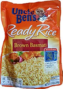 Uncle Ben's Ready Rice Brown Basmati (Pack of 6)