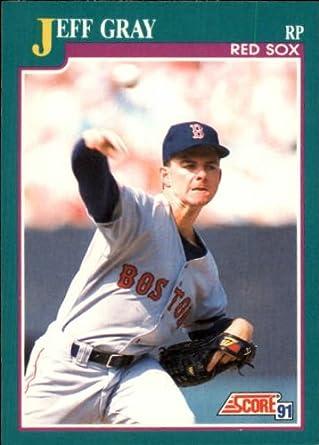 Amazoncom 1991 Score Baseball Rookie Card 586 Jeff Gray Mint