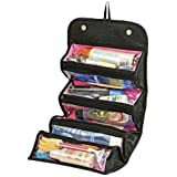 Roll N Go Cosmetic Bag, travel buddy for cosmetics, jewelry and toiletries
